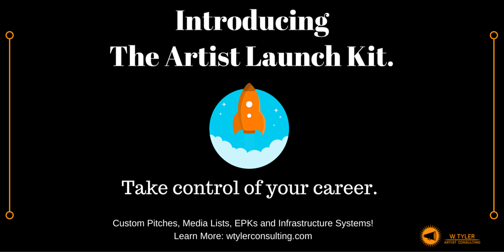 Introducing: The Artist Launch Kit.